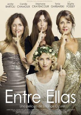 Cartel oficial en español de: Entre ellas