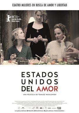 Cartel oficial en español de: Estados Unidos del Amor