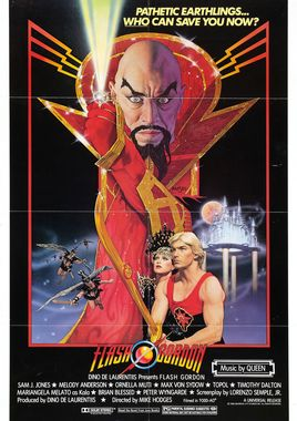 "Cartel ""Flash Gordon"" norteamericano"