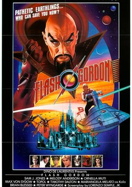 "Cartel ""Flash Gordon"" norteamericano 2"