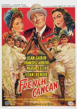 "Cartel ""French Cancan"" belga"