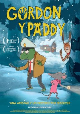 Cartel oficial en español de: Gordon y Paddy