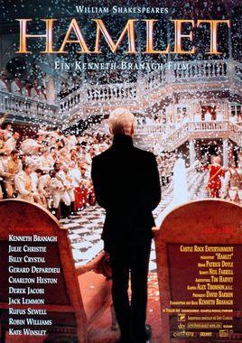 "Cartel ""Hamlet de Kenneth Branagh"" alemán"