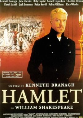 "Cartel ""Hamlet de Kenneth Branagh"" italiano"
