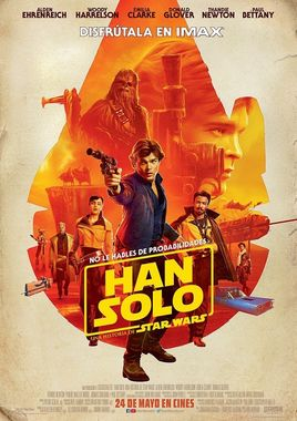 """Cartel de """"Han Solo: Una historia de Star Wars"""" español 3"""
