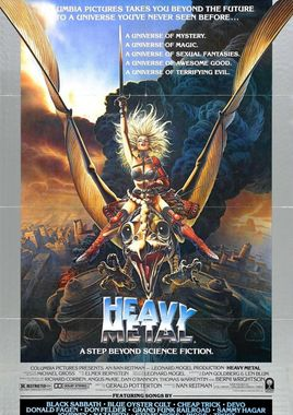 "Cartel ""Heavy Metal"" norteamericano 1"