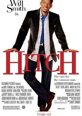 """Cartel """"Hitch, especialista en ligues"""" norteamericano"""