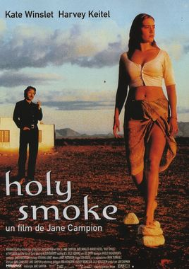"Cartel ""Holy Smoke"" francés"