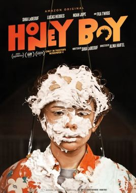 Cartel oficial en español de: Honey Boy