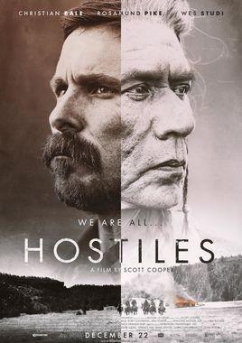 """Cartel """"Hostiles"""" norteamericano 2"""