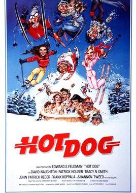 "Cartel ""Hot Dog... el film!"" italiano"
