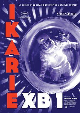 Cartel oficial en español de: IKARIE XB 1