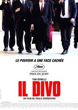"""Cartel """"Il divo"""" francés"""