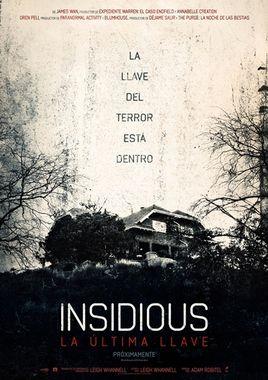 Cartel oficial en español de: Insidious: La última llave