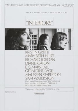 "Cartel ""Interiores"" norteamericano 3"