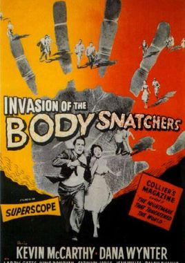 """Cartel """"La invasión de los ladrones de cuerpos"""" norteamericano 3"""