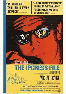 "Cartel de ""Ipcress"" norteamericano"