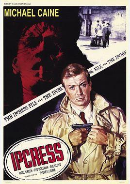 "Cartel de ""Ipcress"" norteamericano 4"