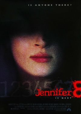 "Cartel de ""Jennifer 8"" Norteamericano 2"
