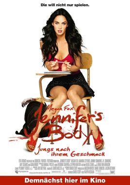 "Cartel ""Jennifer's Body"" alemán"