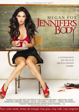 "Cartel ""Jennifer's Body"" francés"