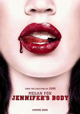"Cartel teaser ""Jennifer's Body"" norteamericano"