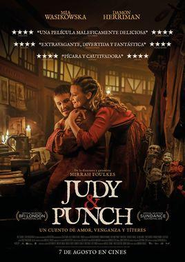 Cartel oficial en español de: Judy y Punch