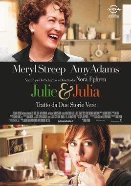 "Cartel ""Julie y Julia"" italiano"