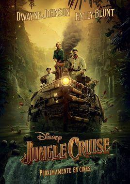 "Cartel ""Jungle Cruise"" teaser español"