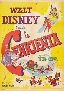 "Cartel de ""La cenicienta"" mexicano"