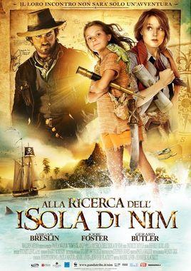 "Cartel teaser""La isla de Nim"" italiano"