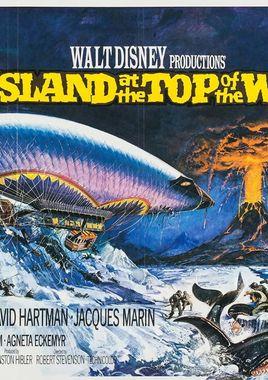 "Cartel de ""La isla del fin del mundo"" inglés"