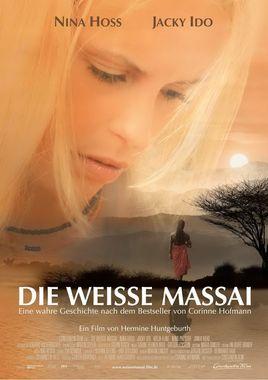 """Cartel """"La masai blanca"""" alemán"""