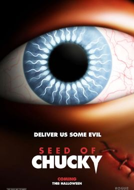 """Cartel teaser """"La semilla de Chucky"""" norteamericano"""