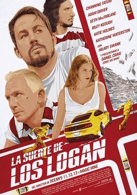 Cartel oficial en español de: La suerte de los Logan