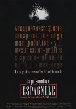 "Cartel ""La trama (The Spanish Prisoner)"" francés"