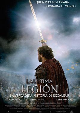 Cartel oficial en español de: La última legión