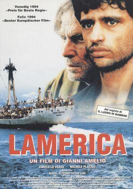 "Cartel ""Lamerica"" italiano"