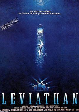 "Cartel ""Leviathan. El demonio del abismo"" francés"