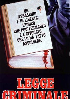 "Cartel ""Ley criminal"" italiano"