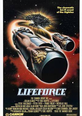 "Cartel ""Lifeforce, fuerza vital"" norteamericano 2"