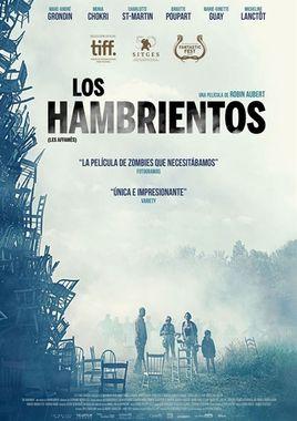 Cartel oficial en español de: Los hambrientos