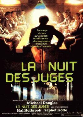 """Cartel de """"Los jueces de la ley"""" francés"""