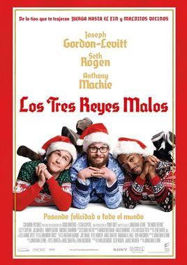 Cartel oficial en español de: Los tres reyes malos