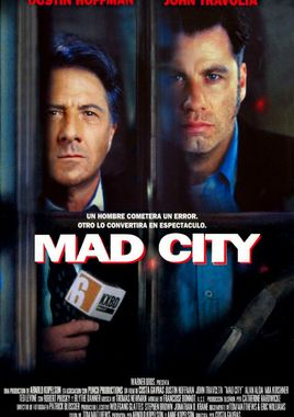 Cartel oficial en español de: Mad City