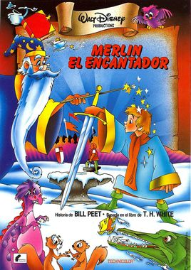 "Cartel de ""Merlín el encantador"" espanol 2"