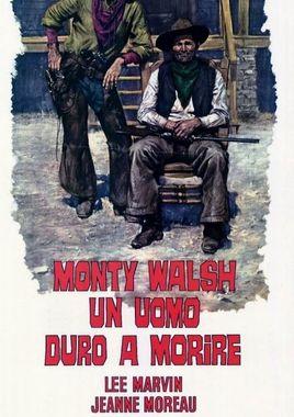 "Cartel ""Monte Walsh"" italiano"