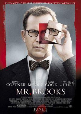 """Cartel de """"Mr. Brooks"""" norteamericano"""