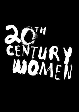 """Cartel teaser de """"Mujeres del siglo XX"""" norteamericano"""