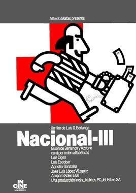 """Cartel """"Nacional III"""" español 2"""